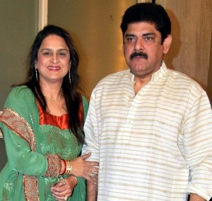 Nikitin Dheer Parents father Pankaj Dheer & mother