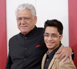 Om Puri children son Ishann