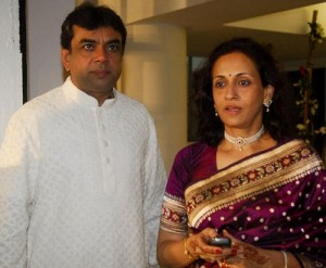 Paresh Rawal Wife Swaroop Sampat