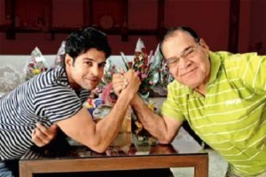 Rajeev Khandelwal Parents father Col. C.L. Khandelwal