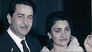 Rishi Kapoor Parents father Raj Kapoor and mother Krishna Kapoor