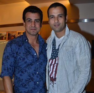 Rohit Roy brother Ronit Roy