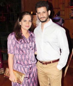 Rohit Roy brother in law Sharman Joshi with wife