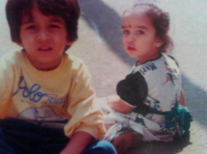 Siddhanth Kapoor Childhood pictures