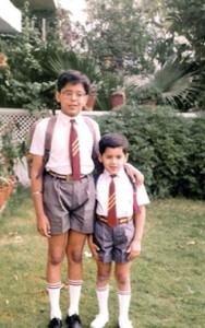 Sidharth Malhotra Childhood pictures