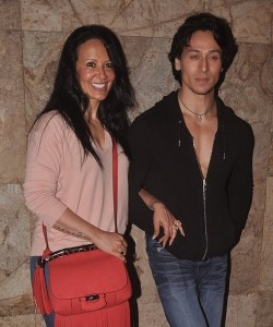 Tiger Shroff Parents mother Ayesha Dutt