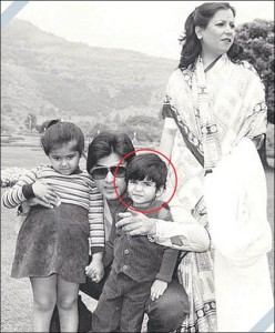 Tusshar Kapoor Childhood pictures 2