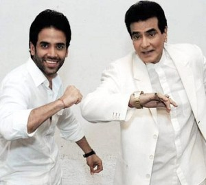Tusshar Kapoor Parents father Jeetendra