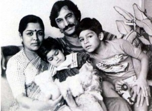 Vivek Oberoi Childhood pictures
