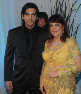 Zayed Khan Parents mother Zarine Khan