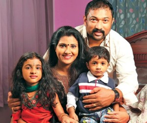 malayalam Baburaj daughter Archa and son Adrith