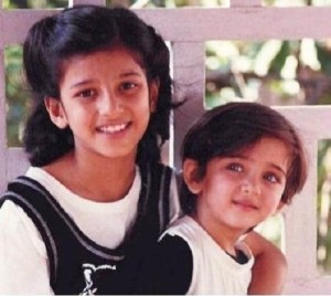 Akshara Haasan Childhood pictures