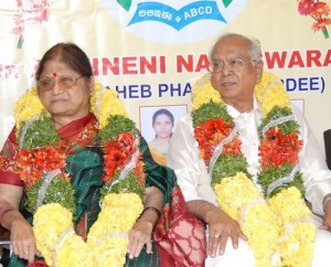 Amala Akkineni Father in law Nageswara Rao Akkineni and mother in law Annapurna Akkineni