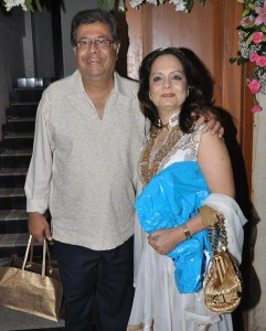Ameesha Patel Parents father Amit Patel and mother Asha Patel