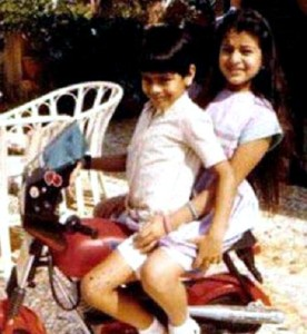 Amisha Patel Childhood pictures 2
