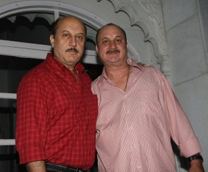 Anupam Kher brother Raju Kher