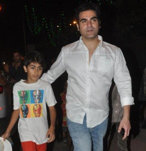Arbaaz Khan children son Arhaan