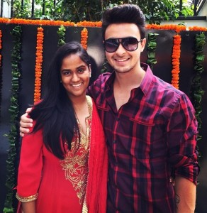 Arbaaz Khan sister Arpita Khan and Aayush Sharma