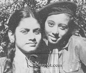 Aruna Irani Childhood pictures