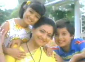 Ayesha Takia Childhood pictures 3