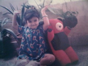 Ayesha Takia Childhood pictures 4