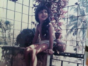 Ayesha Takia Childhood pictures 6