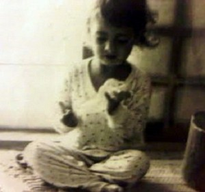 Dia Mirza Childhood pictures 2