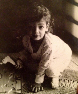 Dia Mirza Childhood pictures 6