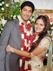 Ahana Deol and Vaibhav Vohra