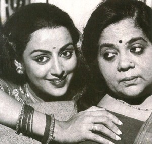 Hema Malini Parents mother Jaya Chakravarthy