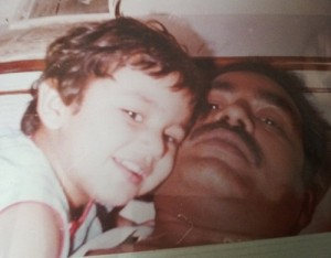 Huma Qureshi Childhood pictures 2