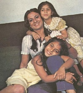 Kajol Devgan Childhood pictures 7