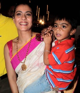 Kajol Devgan Children son Yug