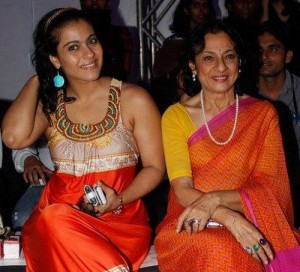 Kajol Devgan Parents mother Tanuja