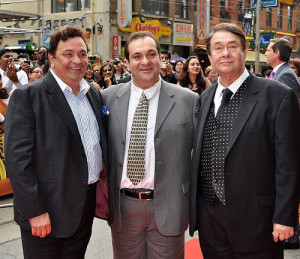 Karisma Kapoor Uncles Rishi Kapoor, Rajiv Kapoor and father Randhir Kapoor