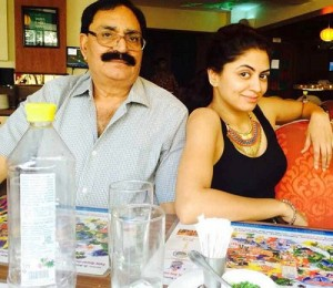 Kavita Kaushik Parents father Mr. Dinesh Chandra Kaushik
