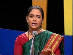 Ketaki Mategaonkar Parents mother Suvarna Mategaonkar