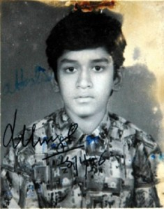 Mahendra Singh Dhoni Childhood pictures 1