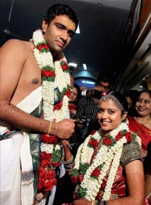 Ravichandran Ashwin Wedding photos 1
