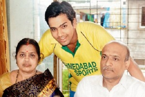 Rohit Sharma Parents father Gurunath Sharma and mother Purnima Sharma