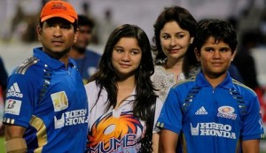 Sachin Tendulkar children son Arjun and daughter Sara