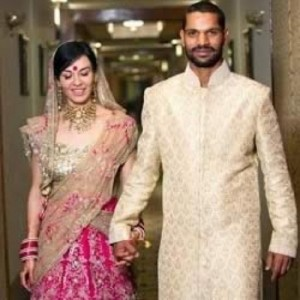Shikhar Dhawan Wedding photos 1