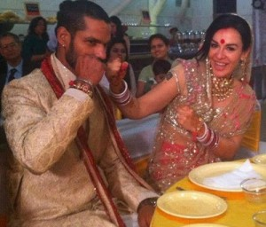 Shikhar Dhawan Wedding photos 3