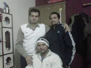 Suresh Raina elder brother Mukesh Raina