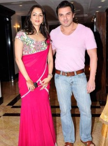 Malaika Arora Khan Brother-in-law Sohail Khan and his wife Seema Khan