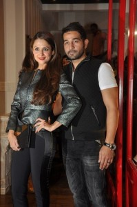 sister Amrita Arora and her husband