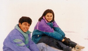 Minissha Lamba Childhood pictures 3