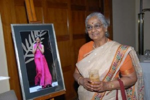 Nandita Das parents mother Varsha