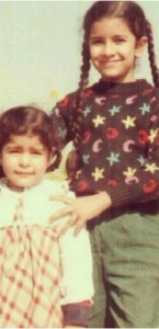 Nimrat Kaur Childhood pictures