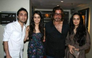Padmini Kolhapure sister Shivangi Kolhapure's children son Siddhanth Kapoor and daughter Shraddha Kapoor